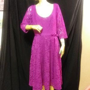 plus size Lane Bryant dress New w/tags lace f